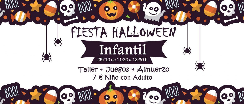 Fiesta Halloween infantil Fuenlabrada. Local Palmas Palmitas