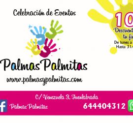 Descuento 10€ Alquiler del local Palmas Palmitas