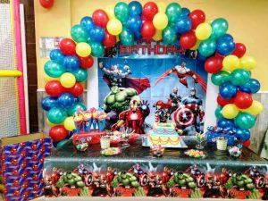 Decoracion-Cumpleaños-Avengers-Local-Fuenlabrada-Palmas-Palmitas-lo-mejor-de-Getafe-1