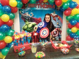 Decoracion-Cumpleaños-Avengers-Local-Fuenlabrada-Palmas-Palmitas-lo-mejor-de-Getafe
